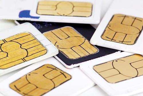Tarjeta SIM de movil