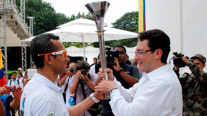 Foto tomada por: Comité Olímpico Colombiano