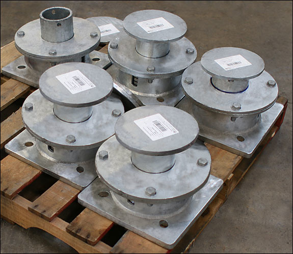 Custom Compact Springs Designed to Support a Storage Tank
