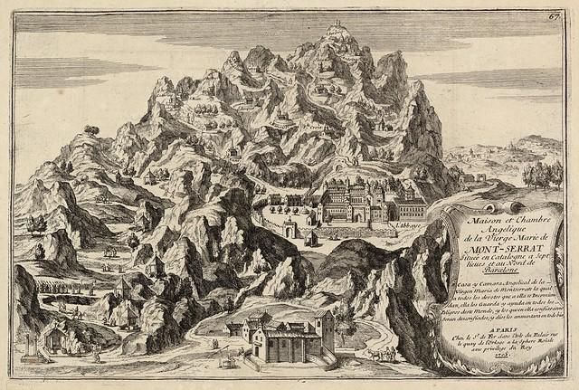 Chez le sr. de Fer - Maison et chambre angelique de la Vierge Marie de Montserrat (1700)