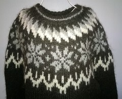Icelandic alpacka wool sweater