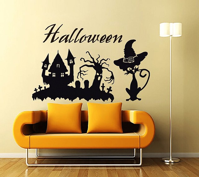 Halloween Day Wall Sticker and Decals