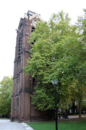 Lille cathedral belltower