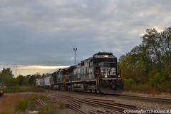 NS 8795 GE C40-9 (11A)