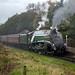 Class A4, 60009 'Union of South Africa' works 1J57 Heywood to Rawtenstall, East Lancashire Railway, Autumn steam gala 15.10.2017
