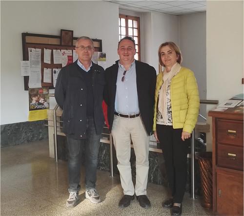 Il presidente  regionale del Banco alimentare Stefano Dalmonte ha incontrato il sindaco Daniele Meluzzi