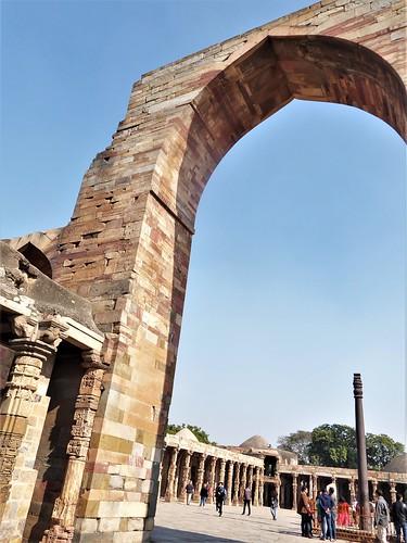 i-delhi-qutab minar-unesco (14)-pilier de fer