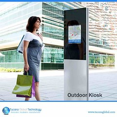 #Outdoor #kiosks are very #useful as #consumers will be able to #move about and #use the kiosks for their #content. There is much more #space in the kiosk for any person to use it in a #comfortable #manner. #TucanaGlobalTechnology #Manufacturer #HongKong