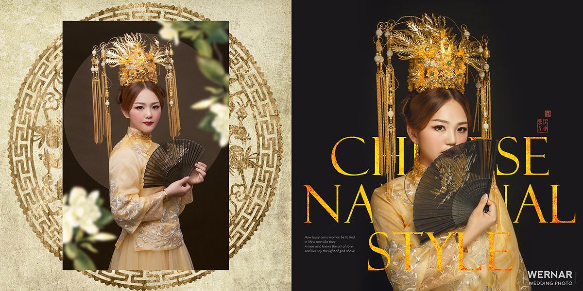 婚紗攝影,婚紗照,台中華納婚紗推薦,中國風,中式新娘,旗袍婚紗