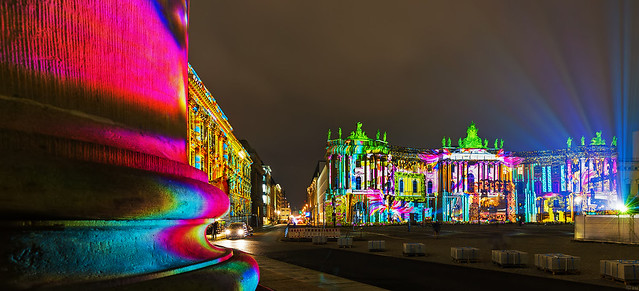 Bebelplatz/ Juristische Fakultät - Festival of Lights 2017