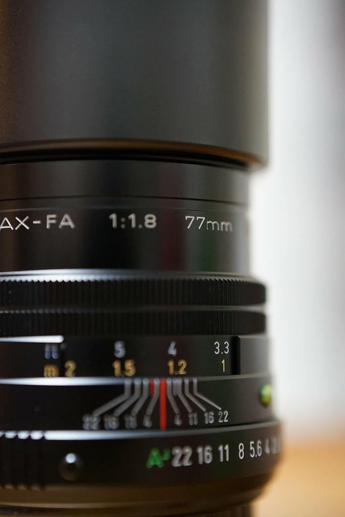 FA 77mm F1.8 limited