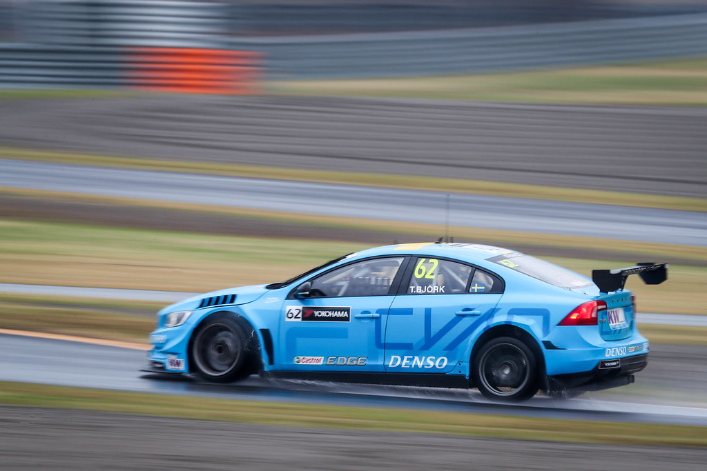 62 BJORK Thed (swe) Volvo S60 Polestar team Polestar Cyan Racing action during the 2017 FIA WTCC World Touring Car Championship race at Motegi from october 27 to 29, Japan - Photo Alexandre Guillaumot / DPPI
