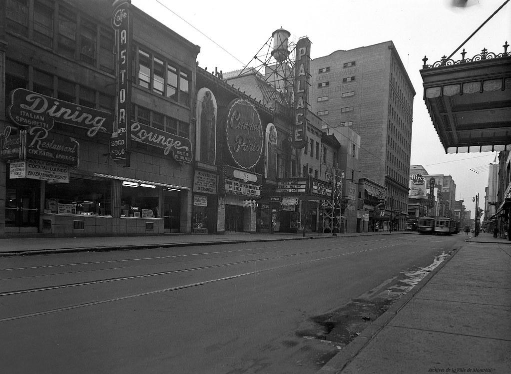 Centre-ville. 694 Sainte-Catherine Ouest. 1948. VM95-Y-1-1-1_6-003. Archives de la Ville de Montréal.
