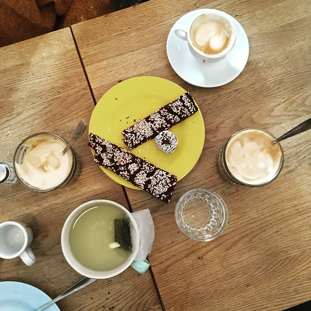 sunday, fika with friends at vurma, stockholm