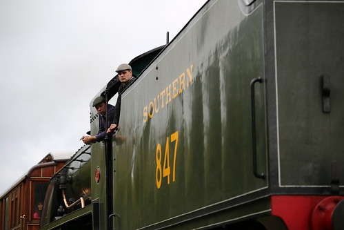 S15 Class Southern 847 on Bluebell Railway