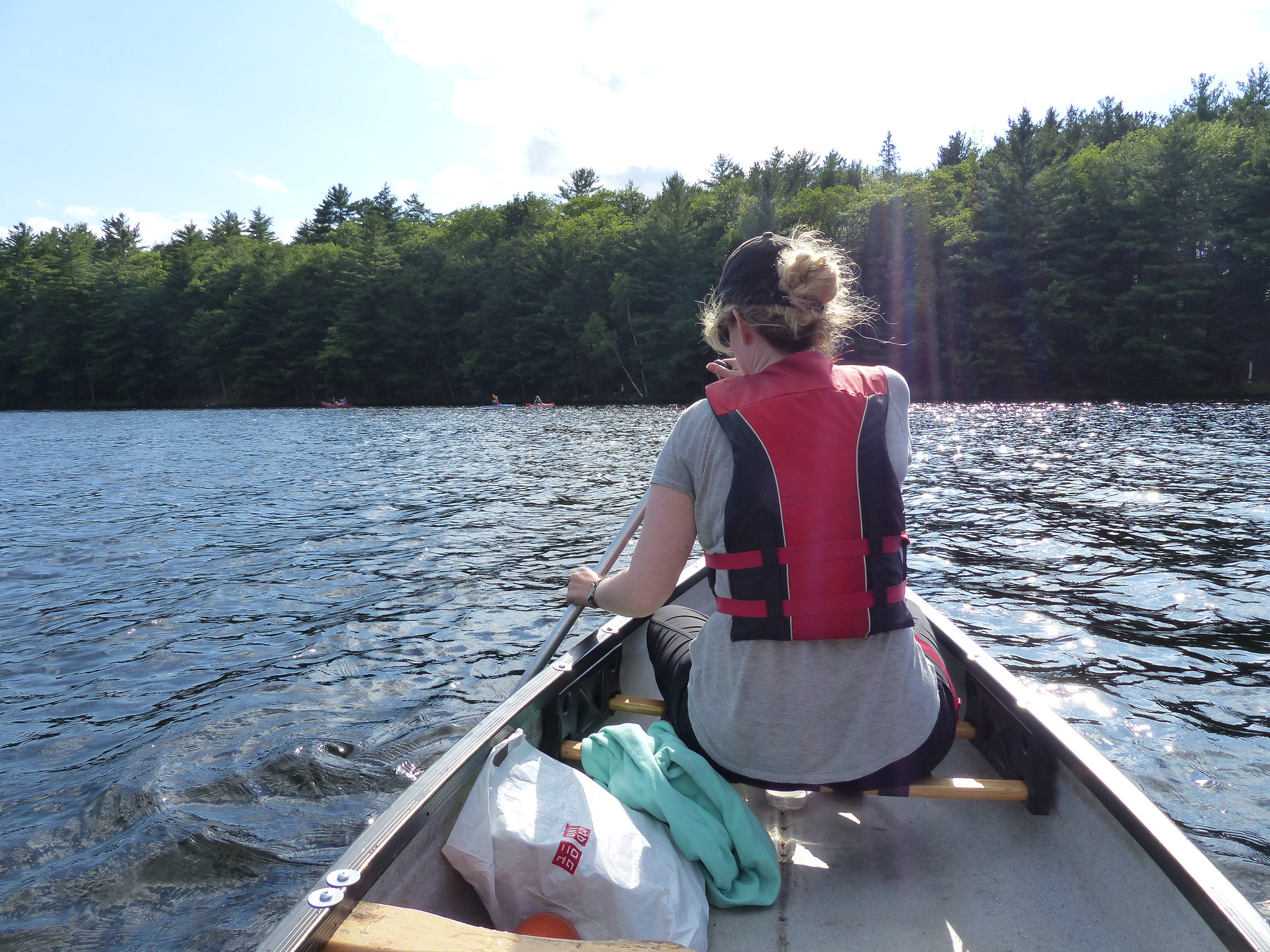 Bon Echo Provincial Park canoe