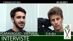 Caravaggio-Virtus V. del 04-10-17