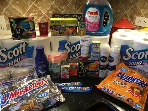 Drugstore Shopping October 8