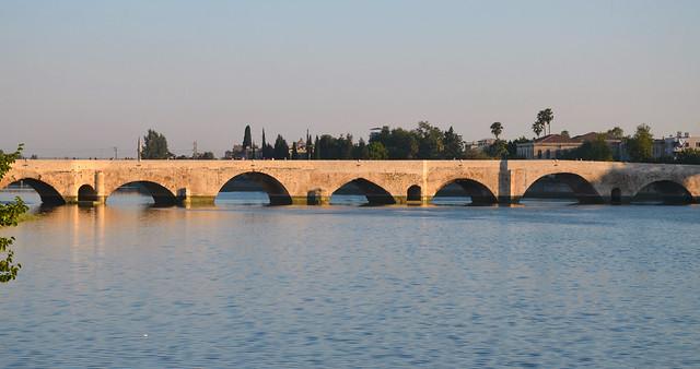 Adana Roman Bridge (Taşköprü), Turkey