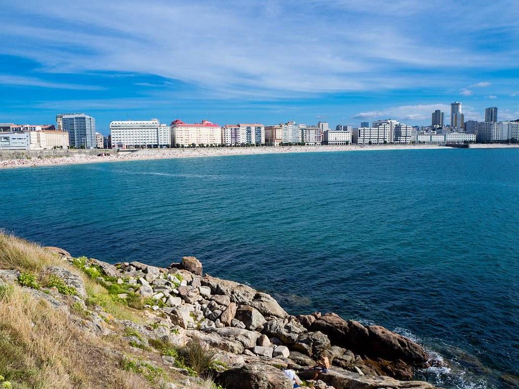Coruña skyline. #orzan #ocean #playa #beach #coruña #photography #olympusomd
