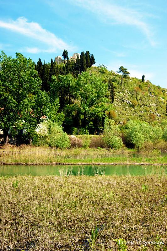 Вид на крепость Бесац