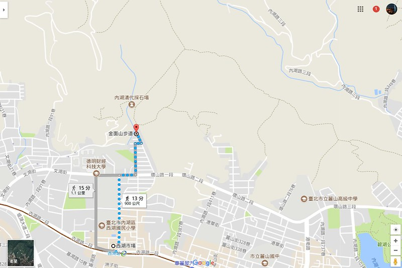 TAIPEI-bush walking-台北郊山健行-內湖金面山剪刀石-17度C隨拍 (3)