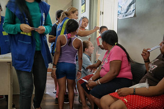 Indígenas warao em Belém. (Foto Catarina Barbosa/Amazônia Real)