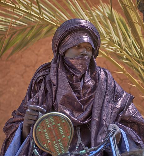 niger touareg rider agadez