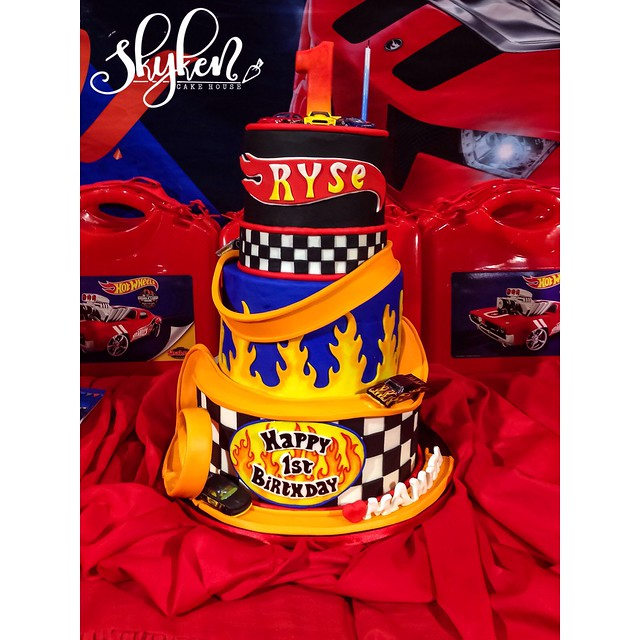 Ryse Hot Wheels Cake by Skyken Cake House