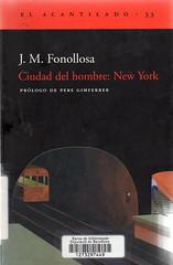 JM Fonollosa, Ciudad del hombre New York
