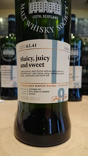 SMWS 63.41 - Sluicy, juicy and sweet