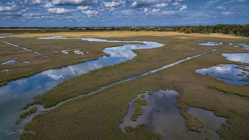 hdr cccd water wetlands dji aerials topaz delaware reflections lewes canarycreek fall phantom3pro sky greatmarsh unitedstates us