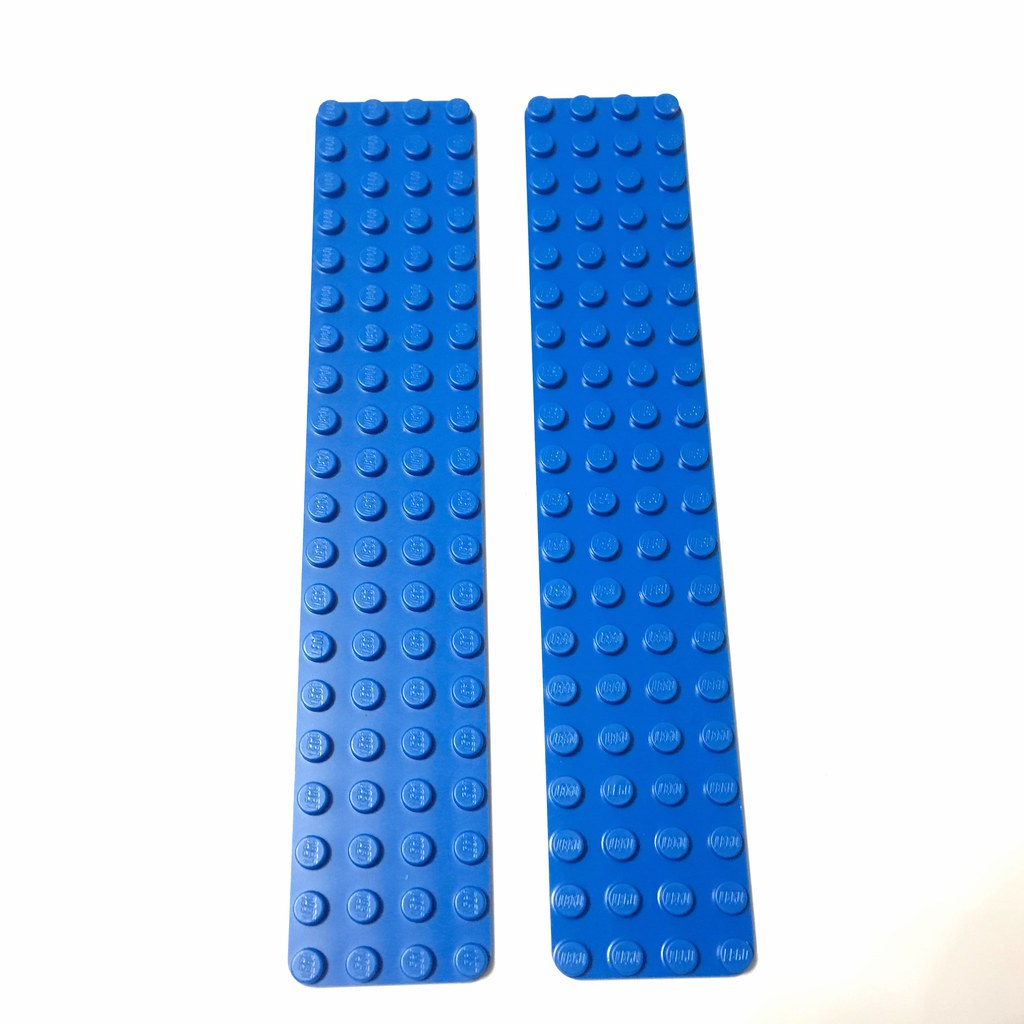top of baseplates