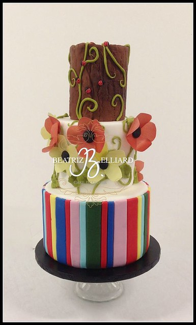 Cake by Beatriz Belliard Cake Design