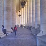 Colonnade Basilica di San Pietro Rome Italy - https://www.flickr.com/people/138142531@N06/