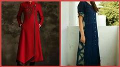 Designer Cotton kurti Designs For Girls - Latest Style 2017-18