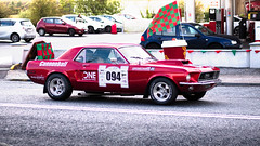 Old Mustang cannonball run Ireland 2017