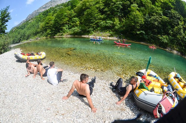 Rafting on the Neretva river full of adrenaline