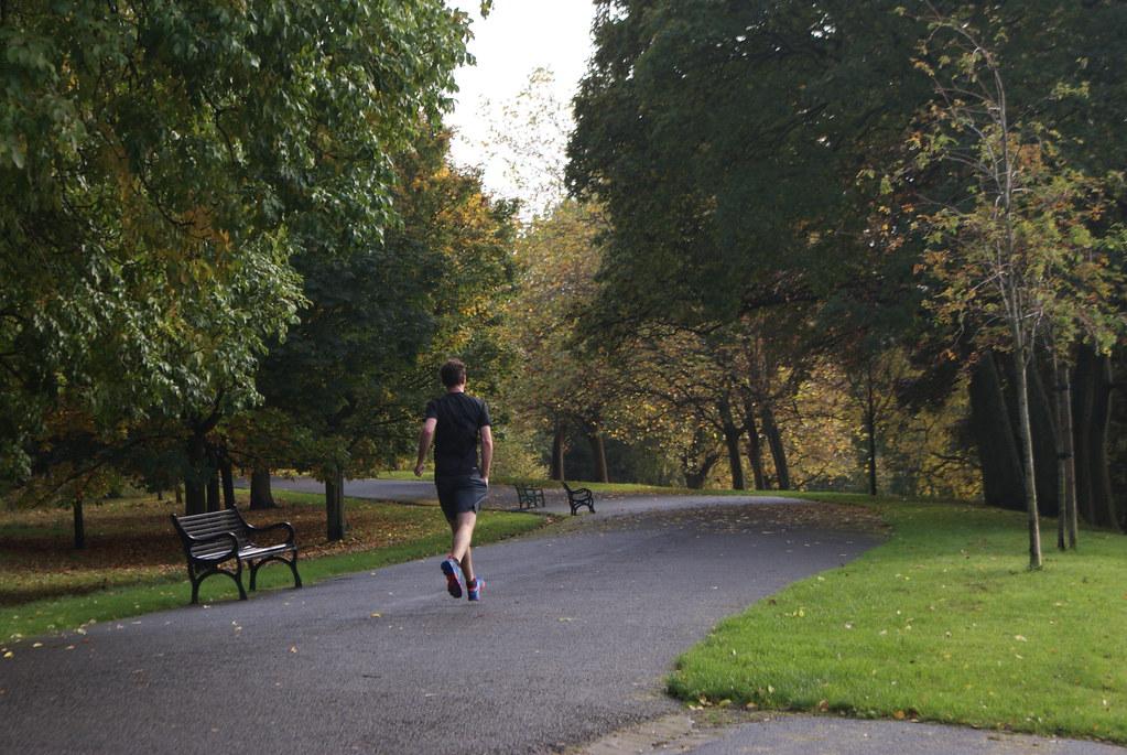 Le parc de Kelvingrode est idéal pour faire un footing à Glasgow dans le calme.