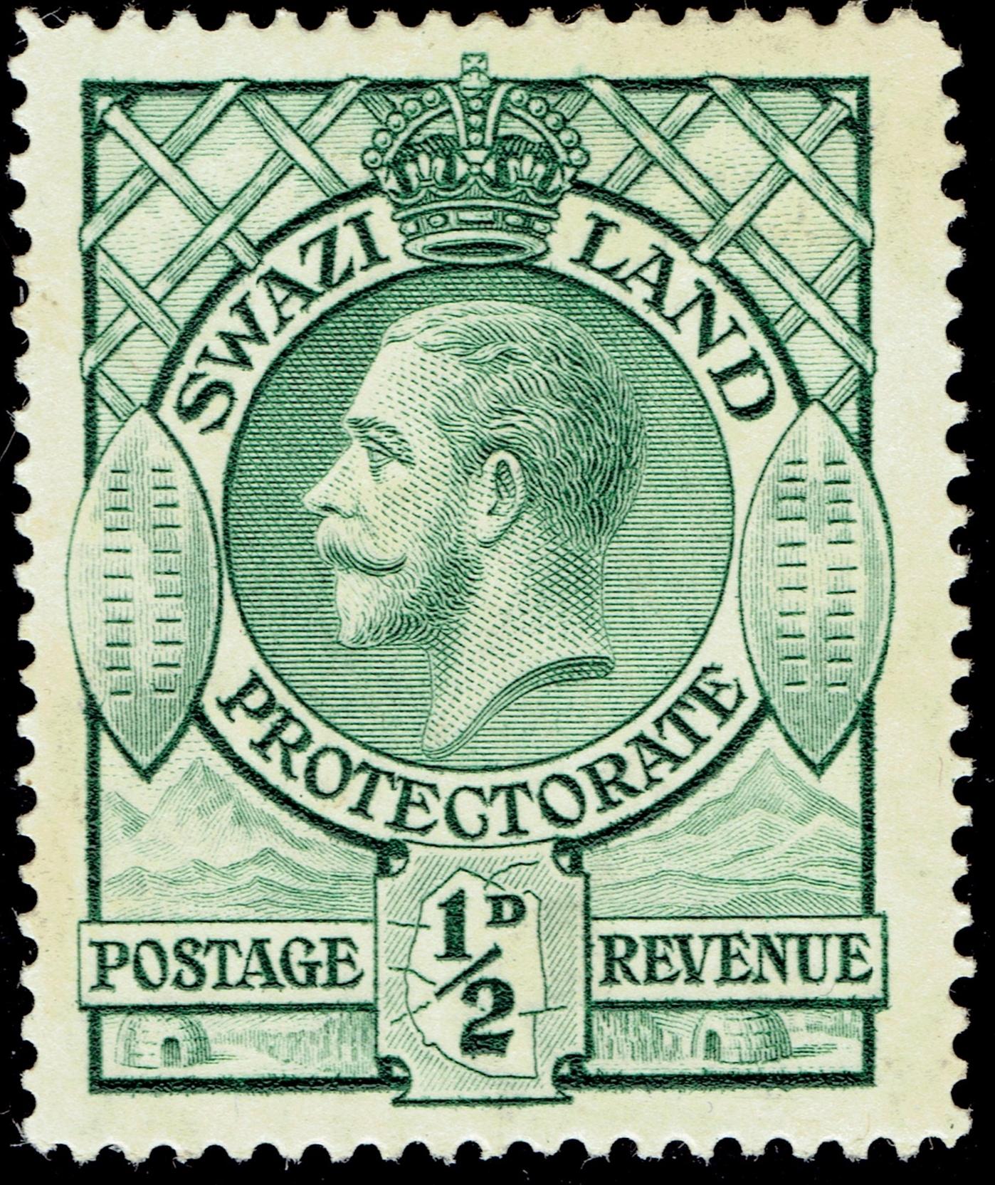 Swaziland Protectorate #10 (1933)