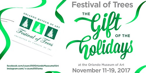 The Festival of Trees at the Orlando Museum of Art