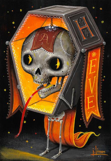 Black & Orange: Coffin Head