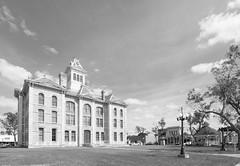 Wharton County Courthouse, Wharton, Texas 1710191401bw