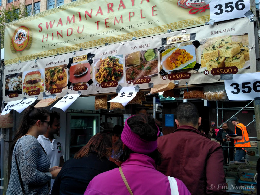 Indian street food Auckland
