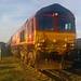 66025 with 6O81 1332 Acton to Eastleigh stone train