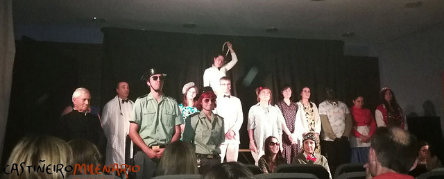 5º Ciclo de teatro. Grupo da Biblioteca de Antas de Ulla