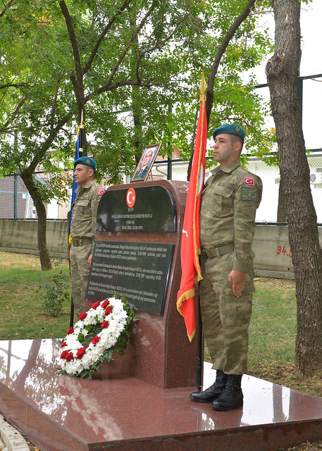 Commemoration Ceremony in honour of Senior Master Sgt Hüseyin Kutlu