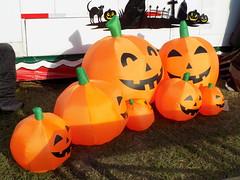 Inflatable Jack O Lanterns.