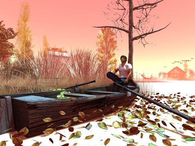 Fall Trace -Row The Boat Ashore She Says....