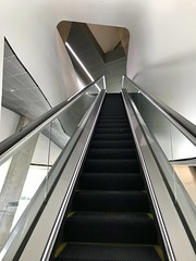Escalator at Perot Museum